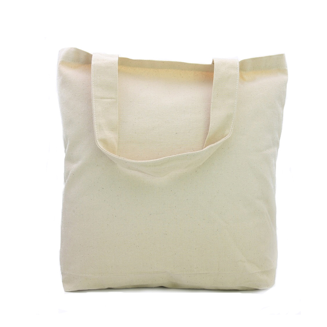 Oivefeet Custom Thick Strong Nature Cotton Canvas Tote Bag Large
