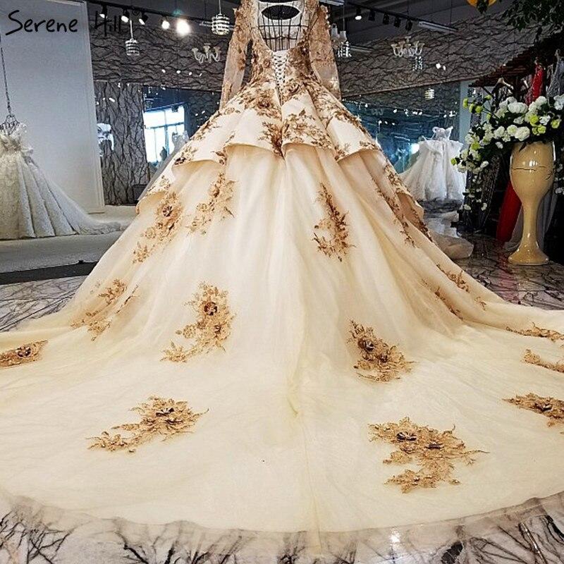 Vintage Long Sleeves High end Cusotm Wedding Dresses 2018 Luxury ...