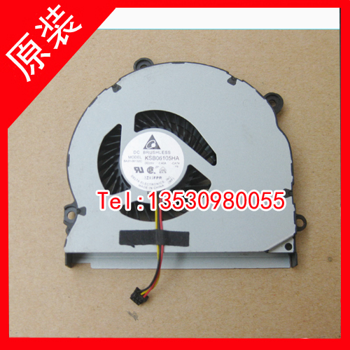 Delta Electronics KSB06105HA -CA74 Server Laptop Fan DC5V 0.50A 3-wire free shipping for delta afc0612db 9j10r dc 12v 0 45a 60x60x15mm 60mm 3 wire 3 pin connector server square fan