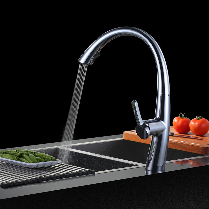Superfaucet Pull Out Kitchen Faucet,Kitchen Sink Mixer With Pull Out Shower Sprayer Kitchen Faucet Sink Taps Kitchen HG-19110