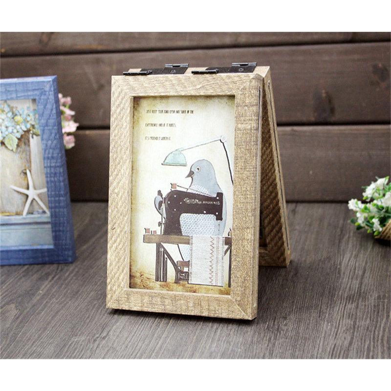 Handmade Wooden Frame Family Picture Frames Bird Pictures Decorative