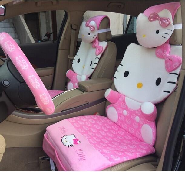 Hello Kitty Car Seat Covers Full Set