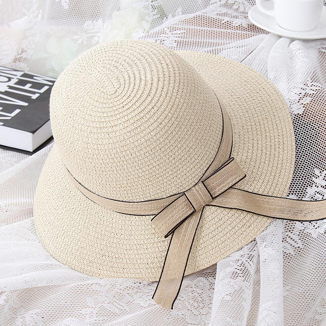 2017 New Fashion Beach Hat Summer Beach for Women Headwear Sun Hat Fisherman Cap Hats Top Qualitywholesale Travel Holiday