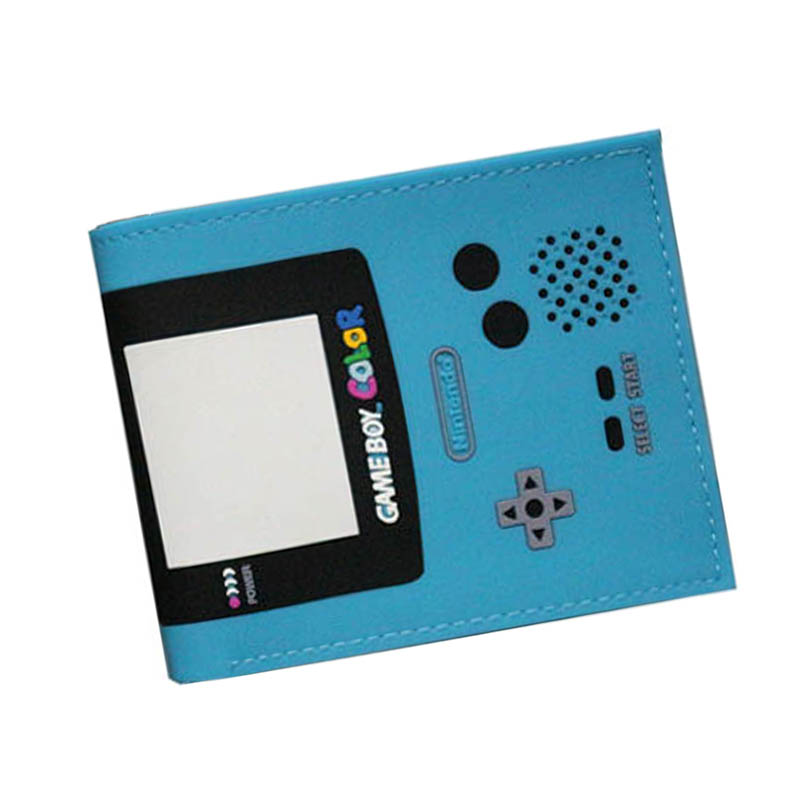 3D Playstation Game Multi Color Leather Wallets Slim Wallets Zipper Coins Bags Card Female Purse carteira masculina Wallet Men baellerry small mens wallets vintage dull polish short dollar price male cards purse mini leather men wallet carteira masculina