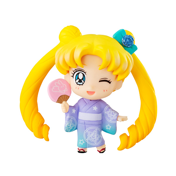 PrettyAngel - Genuine Megahouse Petit Chara Pretty Guardian Sailor Moon Usagi & Tsukino Chibiusa Toys Mini Figures 2