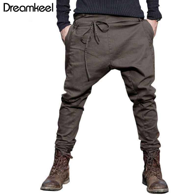9b468158cf3ec US $21.0 |Aliexpress.com : Buy Free shipping men's new Autumn unique waist  rope skinny pants men fashion casual pants harem pants trousers Singer ...