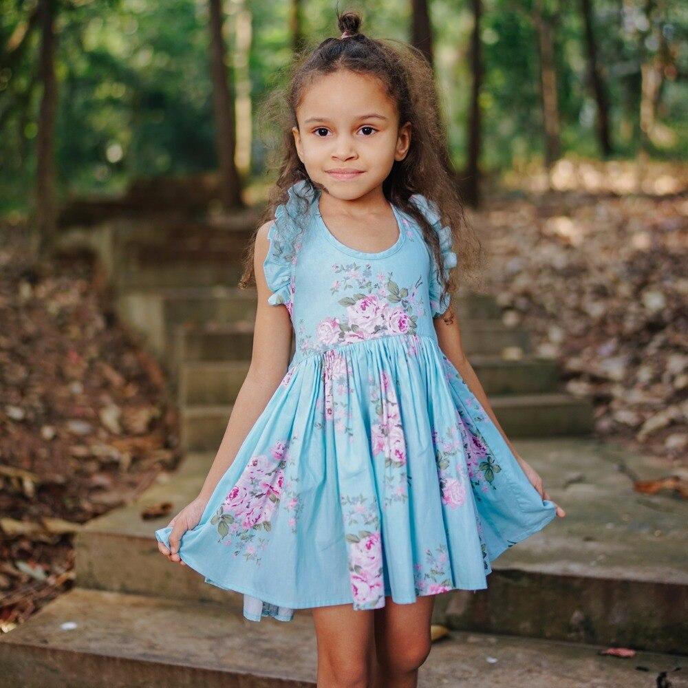 My Floral Dress Vintage Inspired Toddler Girl Summer Dress