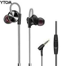 YTOM T7 HIFI Écouteurs En Métal Professional In-Ear Magnétique Écouteurs En Métal Basse Lourde Qualité Sonore Musique écouteurs casque casque