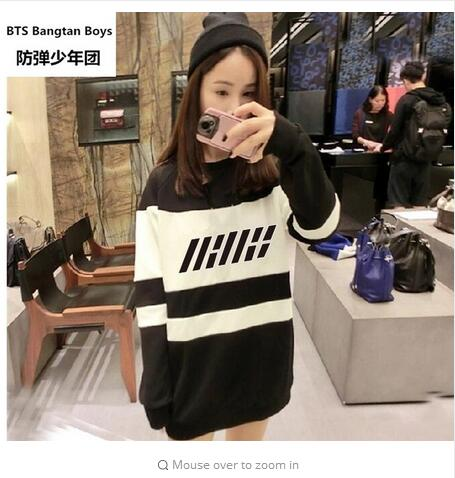 2018 new KPOP Korean Fashion IKON NEW KIDS BEGIN Album Concert Cotton Hoodies Hat Clothes K-POP Pullovers Sweatshirts