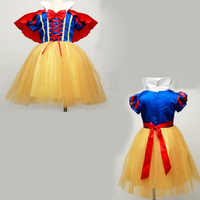 Infant Baby Princess Snow White Dress Girl Toddler Dresses Children Kids Girls Costume Cosplay Roupas Fancy
