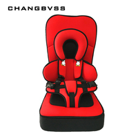 Luxury Thicken Type Baby Toddler Car Safety Seats Cotton Surface Kids Protection Chairs In Car Children