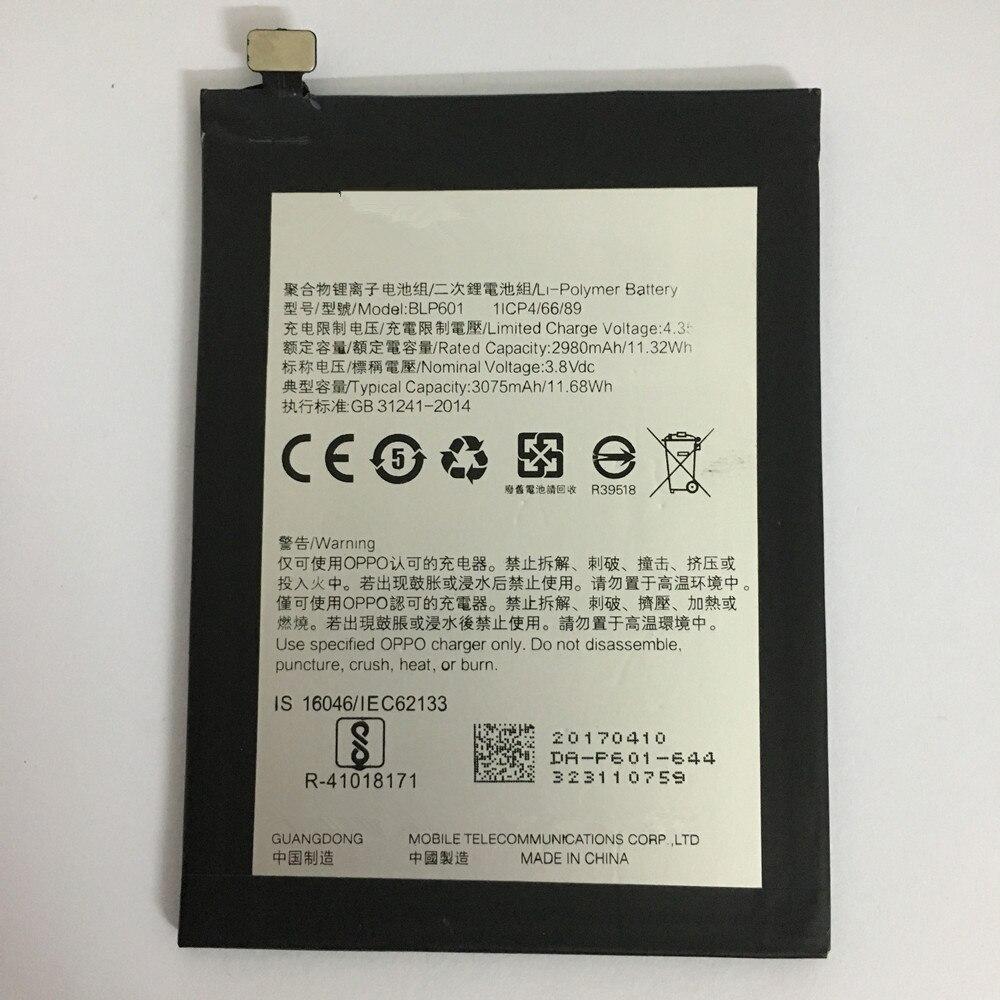 100% Original Backup 2980mAh BLP601 Battery Use For OPPO