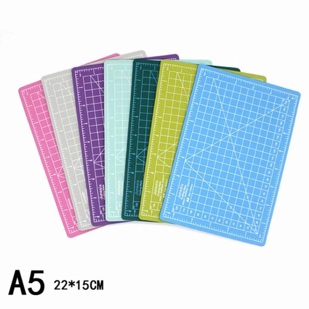 7color assort DIY assistant A5 Cutting Mats-school supplies