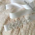 TOPQUEEN S211 Beading Sequins Applique Crystal Elegant Wedding Belt Bridal Sash Bridal Accessories