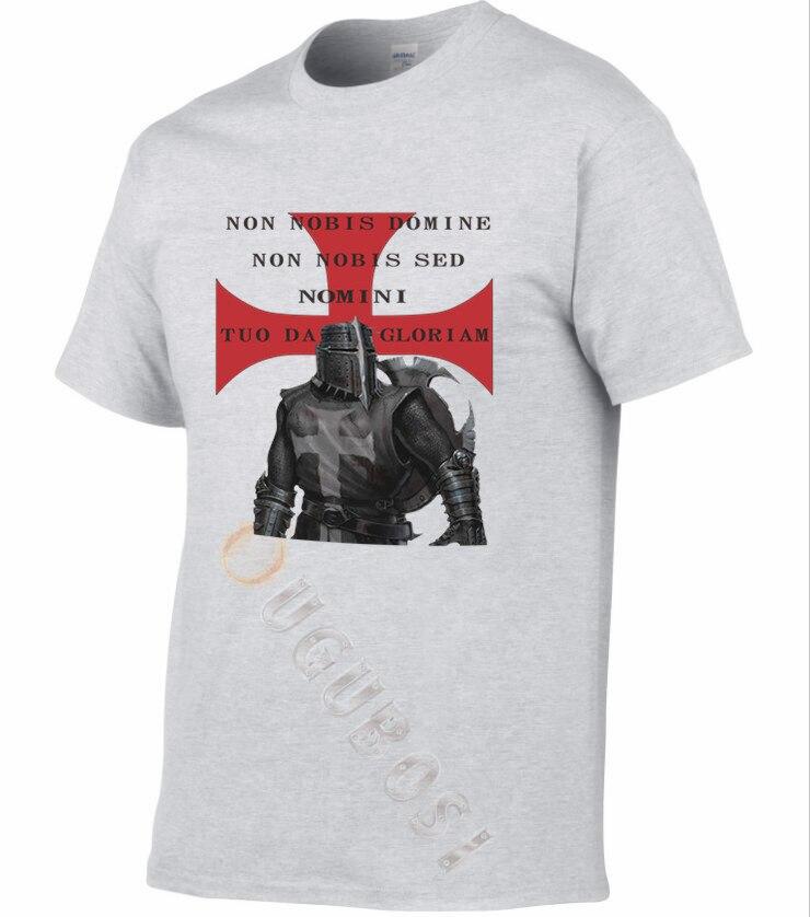 Templar   T     Shirt   Knights New Knight Teutonic Crusader Cotton Tshirt 2019 free shipping