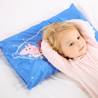 2018 Genuine Peppa Pig Thailand imported children's student natural latex pillow 3 12 year old child neck care memory pillow toy