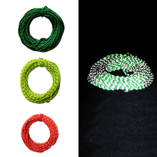 Camping Tent Accessory Rope Reflective Windropes 15m Outdoor Sun Shelter Awning Camping Nightlight Windproof Noose Tent Ropes