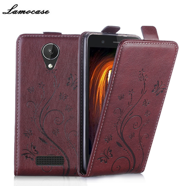 Filp Leather Case For Micromax Q380 Vertical Magnetic Case For Micromax Canvas Spark Q380 Strike Embossing Cover Phone Bags&Case