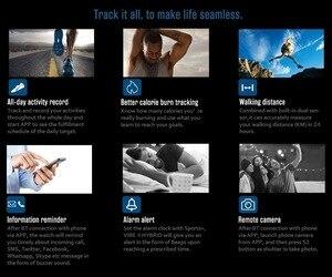 Image 3 - Zeblaze vibe 4 HYBRID Smart Watch Men Women  Smartwatch Waterproof 24 Month Standby Time 24h All Weather Monitoring