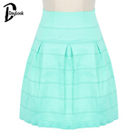 DayLook 2016 Summer Style Elegant High Waist Skirts Womens Street Style Bandage Skirt Ball Gown Plus