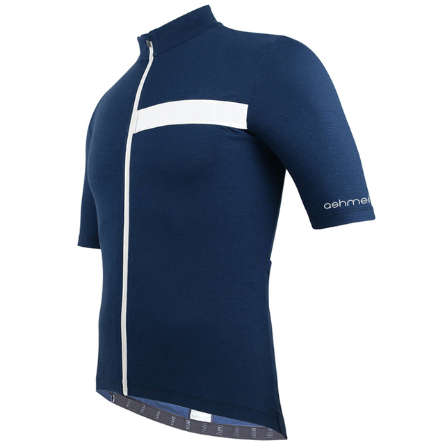 Maillot bicycle clothing men's summer 2018 sports leisure travel running cycling short sleeve jersey italy MERINO+CARBON fabric 1