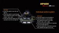 Fenix hp40h 1 * кри xp-e2 и 1 * кри xp-g2 r5 из светодиодов 450 люмен питается от четырех а. А. БАТАРЕИ ФАРЫ