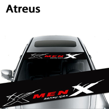 Atreus 1X Waterproof Car Window Front Rear Windshield Stickers For Jeep Renegade Wrangler Grand Cherokee Renault Duster Fiat 500