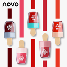 NOVO ICE CREAM Waterproof Lip Tint 6 Colors Liquid Lipstick Lasting Batom Rouge