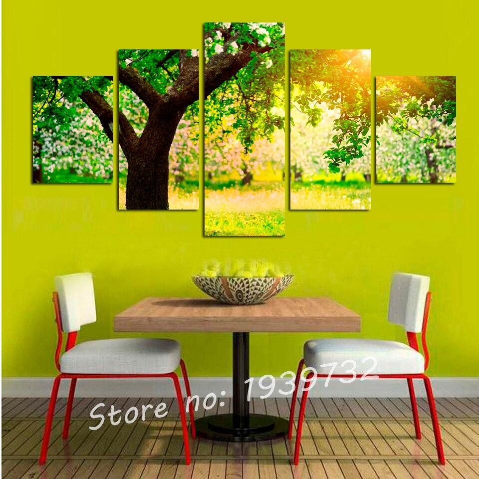 Achetez en gros arbre peinture murale en ligne des - Peinture murale en ligne ...