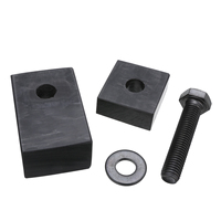 1pcs High Quality Spacers Black Rear Seat Support Recline Spacer Kit For 2007 2017 Jeep Wrangler JK 4DR Car Interior Accessories