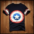 Men's Captain America Superman Print 3D T shirt 2016 Fashion Superhero Women Clothing Summer Compression Lovers T-shirt M-XXXXL