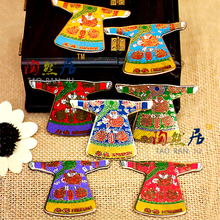 Chinese national characteristics dress robes cloisonne refrigerator