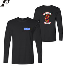 LUCKYFRIDAYF Riverdale Long Sleeve T Shirt Men/Women Cotton Spring Fashion Letter Anime Streetwear Hip Hop T-shirt Tops(China)