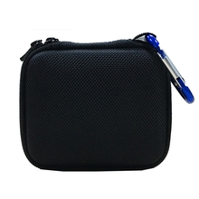 Hard EVA  Carry Bag Case Cover for JBL Go 1/2 Bluetooth Speaker, Mesh Pocket for Charger and Cables