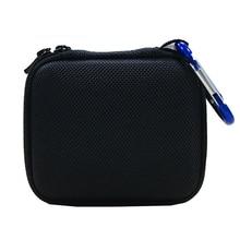 Sert EVA taşıma çantası kılıf kapak için JBL Go 1/2 Bluetooth hoparlör, file çanta şarj ve kabloları