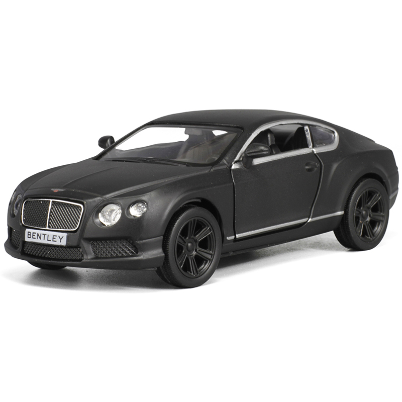 new rmz city matte black bentley continental 136 scale 5 inch diecast vehicles model car toys best gift for kids free shipping