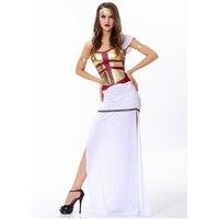 aa0a40a736 ... Greckiej bogini kostium królowa kostiumy sexy sukienek. Halloween  Costume Arabia White Dress Goddess The Queen Clothing Bar Costumes Sexy  Dresses ...