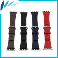 Genuine Leather Watchband For IWatch Apple Watch Sport Edittion 38mm 42mm Strap Band Loop Belt Wrist