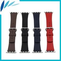 Genuine Leather Watchband For IWatch Apple Watch Sport Edittion 38mm 42mm Strap Band Loop Belt Wrist