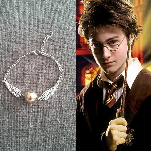 Harry potter golden snitch bracelet   SH049