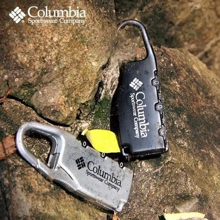 Free shipping Alloy Colubia Combination Code Number Lock Padlock Luggage lock for Zipper Bag Backpack Handbag Drawer Cabinet