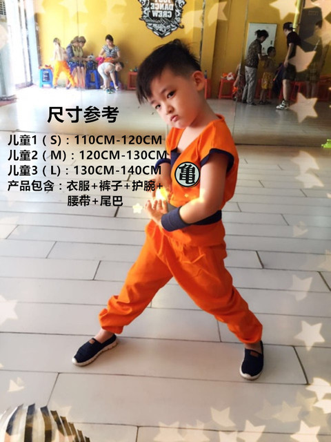 Dragon Ball Z Costumes for Kids and Adult