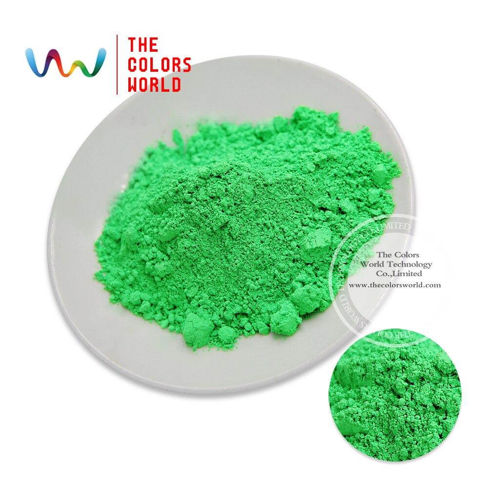 Tcfg-611 verde neón colores neón fluorescente pigmento Polvos de ...