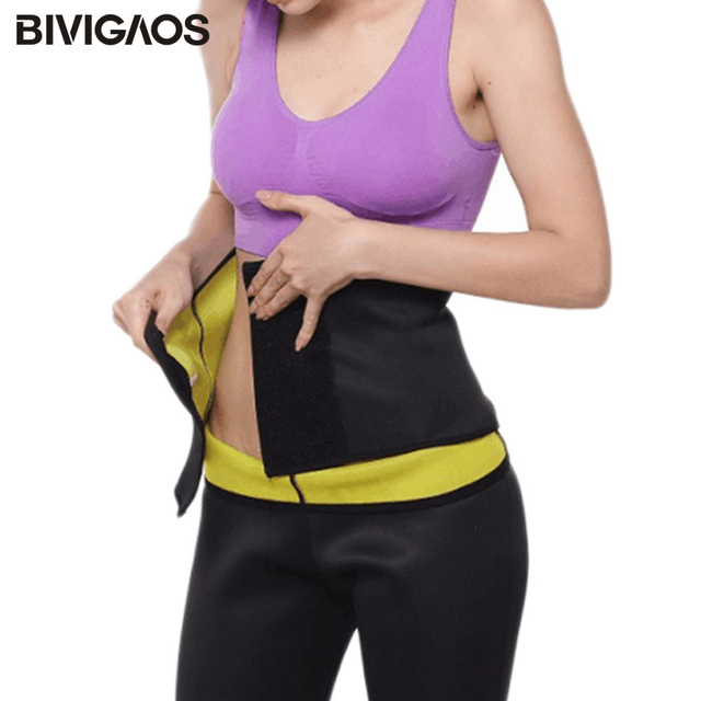 Neoprene Bodycare Workout Belt Abdomen Waist Trainer Body Shaper Slimming Belt Shapewear Health Sweat Waistbelt For Women Men 2