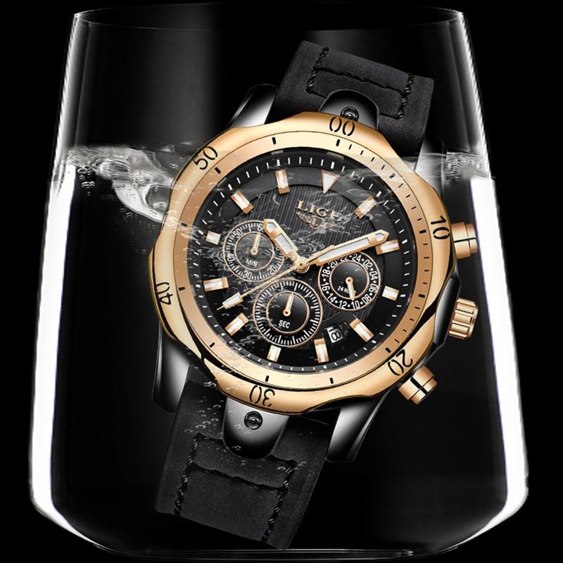 Herenhorloge Top Luxe Merk LUI Heren Sport Waterdichte Quartz - Herenhorloges - Foto 3