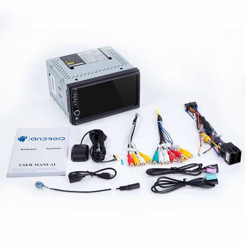 AutoRadio 2 الدين أندرويد 8.1 سيارة رئيس وحدة لنيسان ملاحظة قاشقاي Xtrail ألميرا الوسائط المتعددة الصوت مسجل شرائط الملاحة لتحديد المواقع 4G