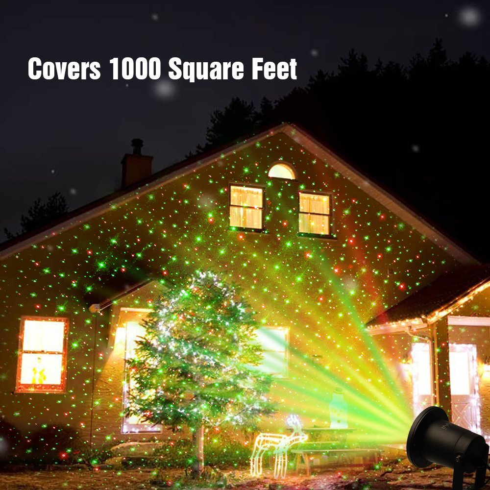 Outdoor Lawn Light Sky Star Laser Spotlight Light Show Landscape ...