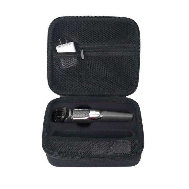 휴대용 케이스 지퍼 파우치 EVA 여행용 가방 필립스 Multigroom 시리즈 3000/5000 전기 면도기 10166