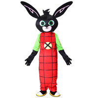 NEW Bing Bunny Mascot costume Fancy Dress Christmas Cosplay for Halloween party event