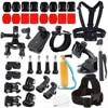 Gopro Accessories Set 41in One Helmet Chest Belt Head Mount Strap For Go Pro Hero 4